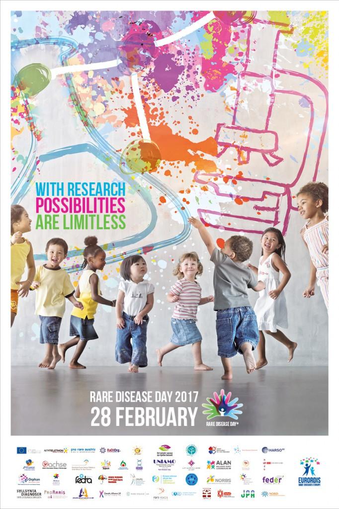 28 februari 2017: Zeldzame ziektedag
