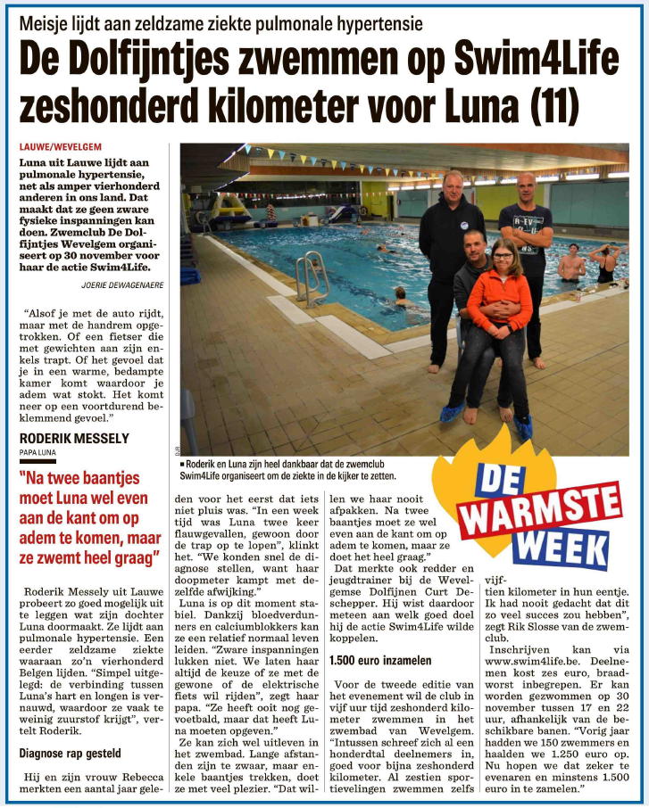 Artikel Swim For Life